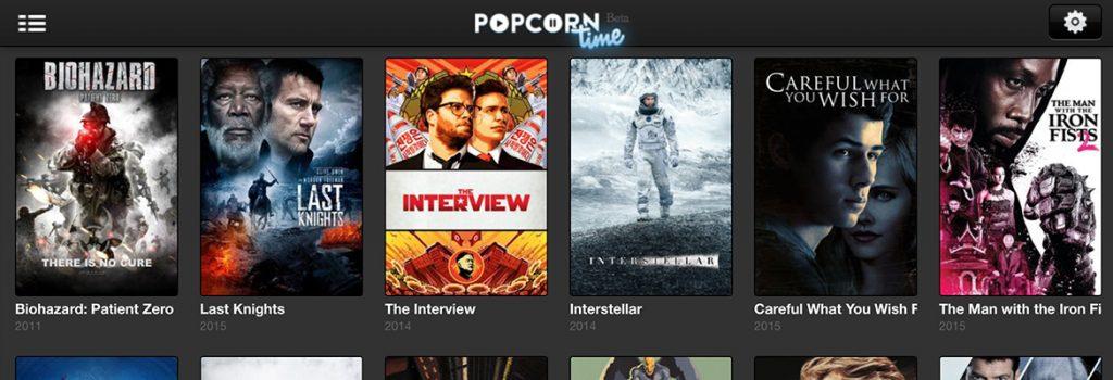 iOS Popcorn applicatie